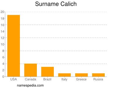 Surname Calich