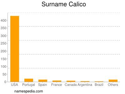 Surname Calico