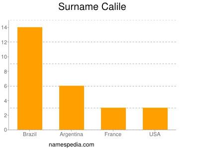 Surname Calile