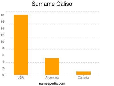 Surname Caliso