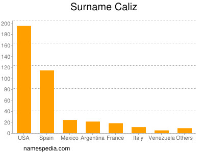 Surname Caliz