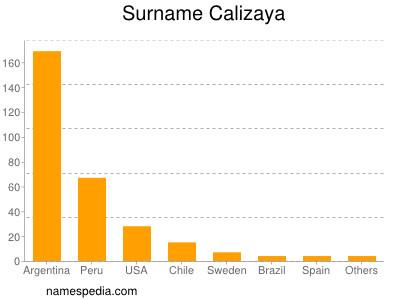 Surname Calizaya