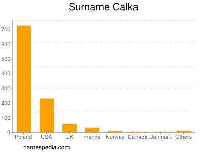 Surname Calka