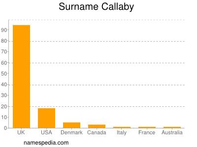 Surname Callaby
