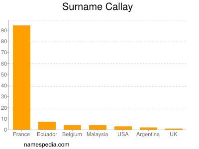 Surname Callay
