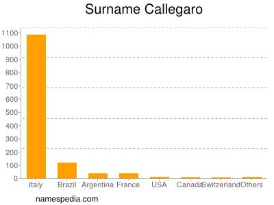 Surname Callegaro