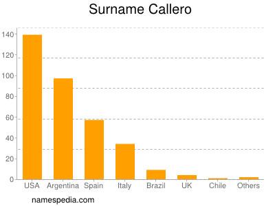 Surname Callero