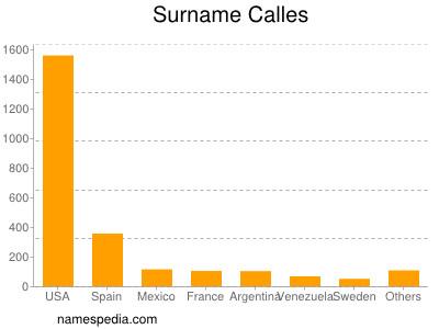 Surname Calles