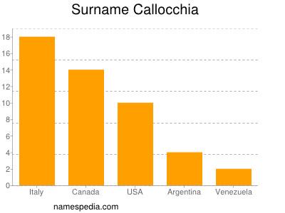 Surname Callocchia