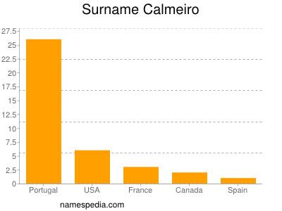 Surname Calmeiro