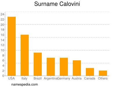 Surname Calovini