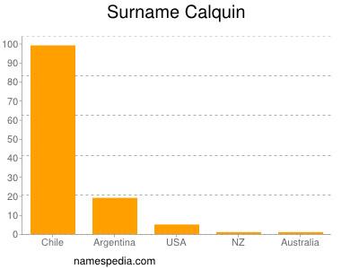 Surname Calquin
