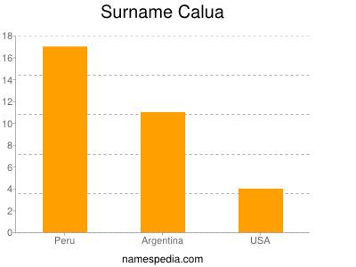 Surname Calua