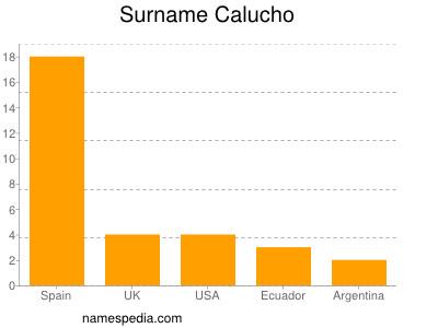 Surname Calucho