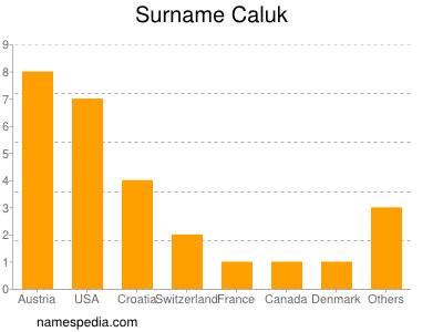 Surname Caluk