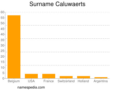 Surname Caluwaerts