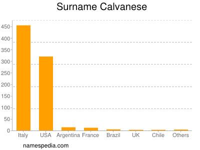 Surname Calvanese