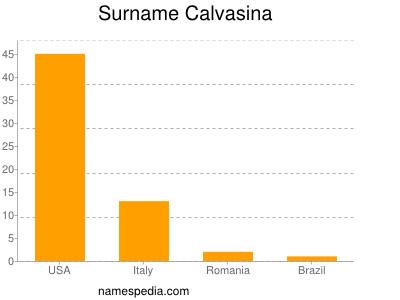 Surname Calvasina