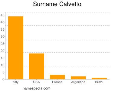 Surname Calvetto