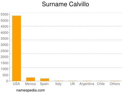 Surname Calvillo