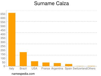 Surname Calza