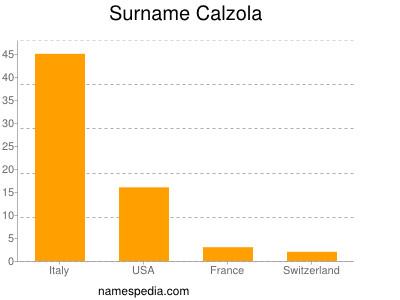 Surname Calzola