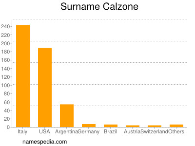 Surname Calzone