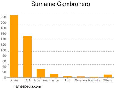 Surname Cambronero