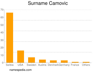 Surname Camovic
