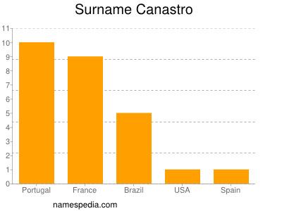 Surname Canastro