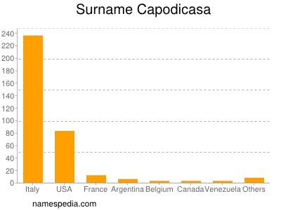 Surname Capodicasa