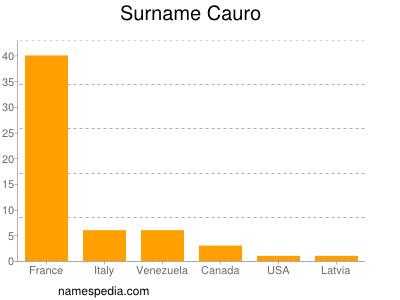Surname Cauro