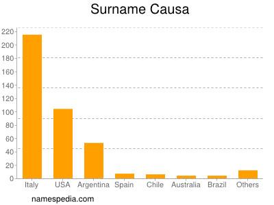 Surname Causa