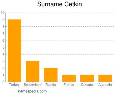 Surname Cetkin