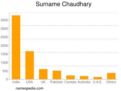 Surname Chaudhary