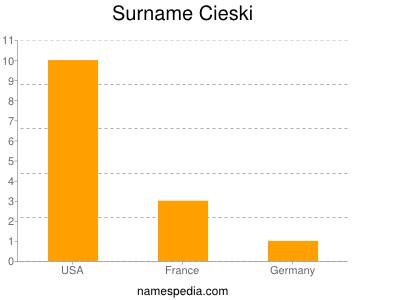 Surname Cieski