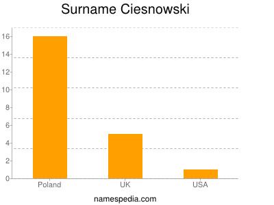 Surname Ciesnowski