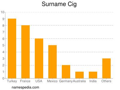 Surname Cig