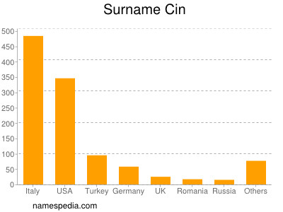 Surname Cin