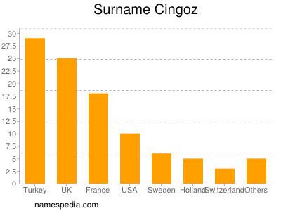 Surname Cingoz