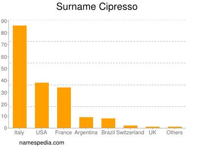Surname Cipresso