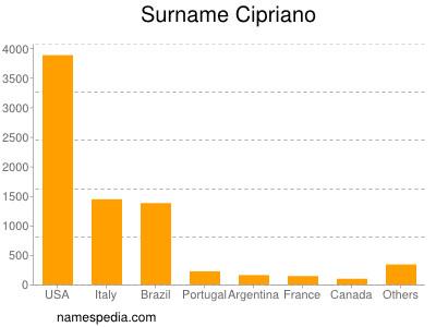 Surname Cipriano