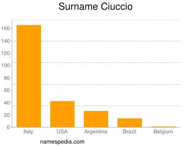 Surname Ciuccio