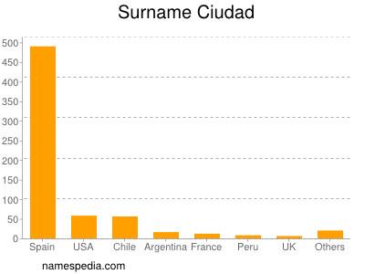 Surname Ciudad