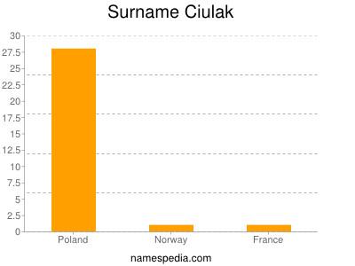 Surname Ciulak