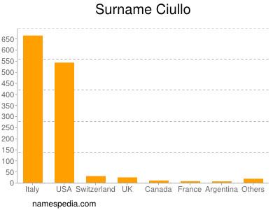 Surname Ciullo