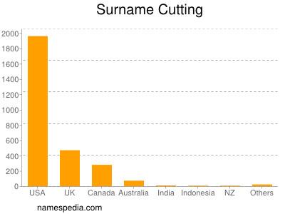 Familiennamen Cutting