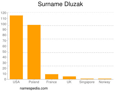 Surname Dluzak