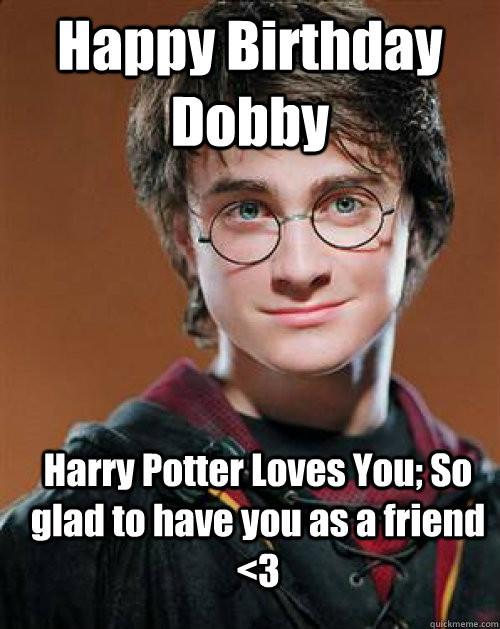 Funny Birthday Meme For Friends : Dobby names encyclopedia