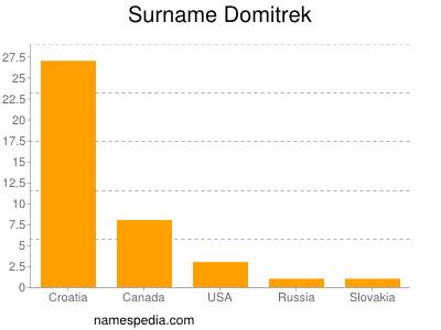 Surname Domitrek